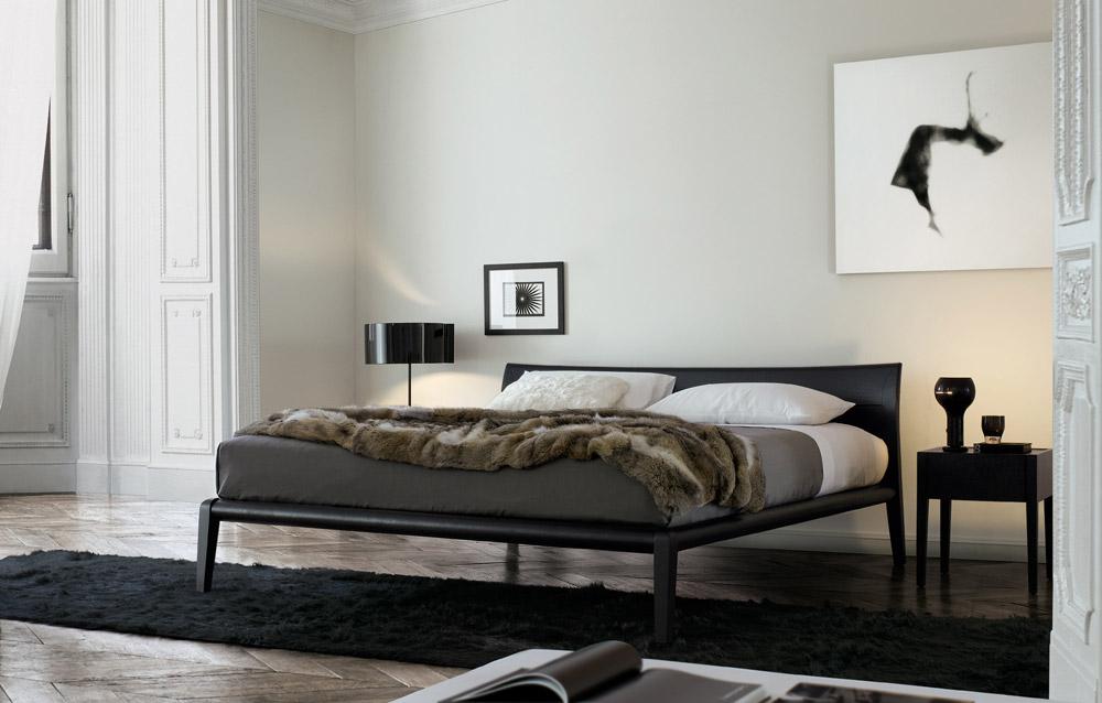 Camere da letto minimal chic arredica for Camera minimalista
