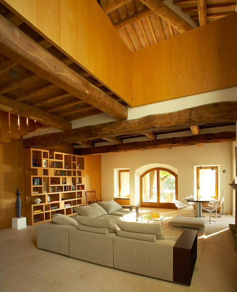 Villa Francisci, soggiorno