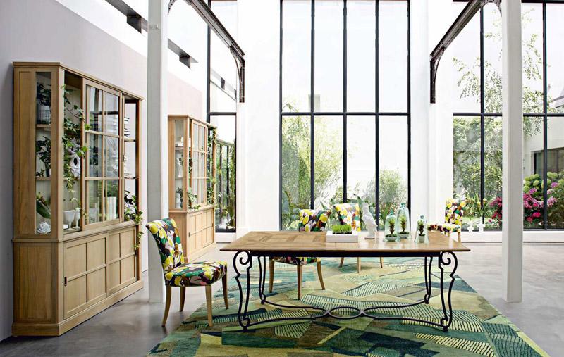 Tavoli legno classici Roche Bobois Andalousie