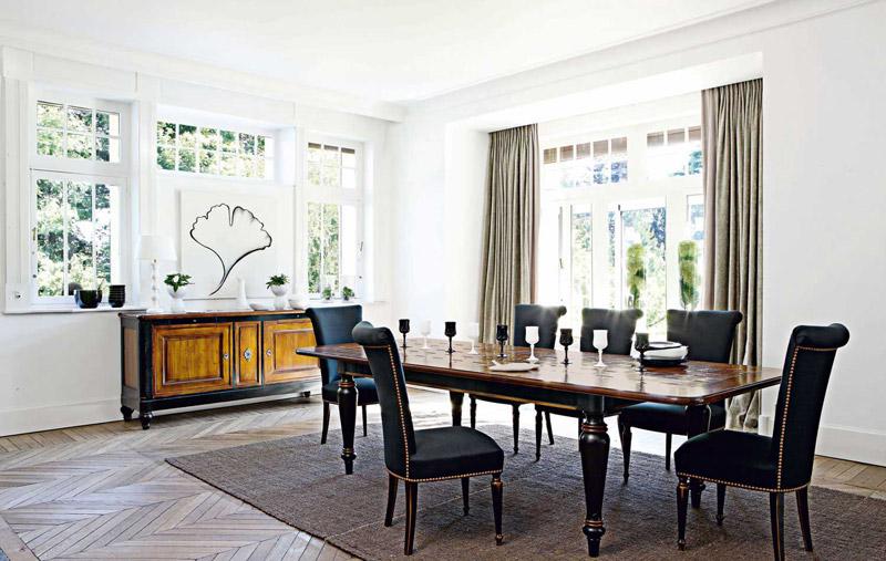 Tavoli legno classici Roche Bobois Villandry