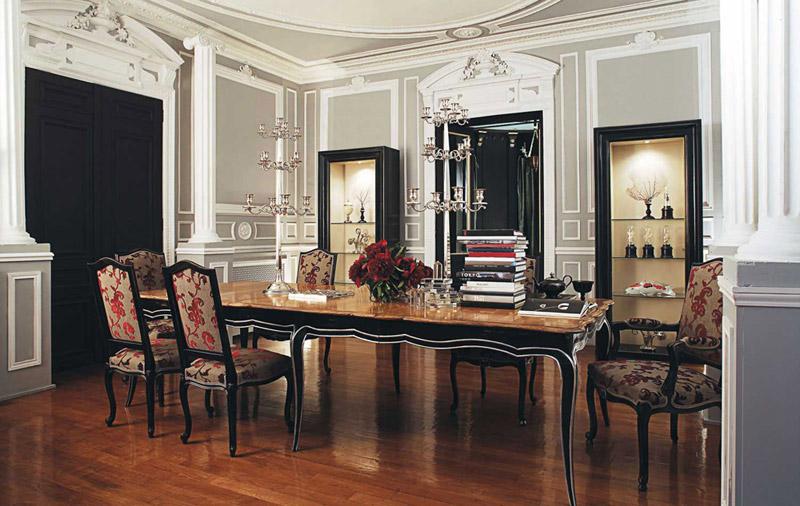 Tavoli Da Cucina Classici.Classici Tavoli Da Pranzo In Legno Lo Stile Roche Bobois