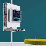 Sail, sistema con mobile TV e porta DVD