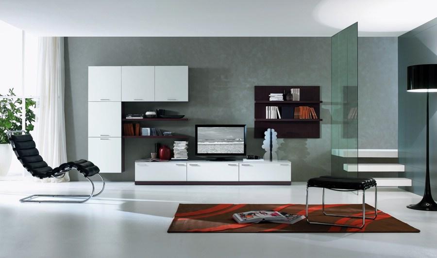 Soggiorni moderni artigianmobili arredica for Foto case arredate moderne