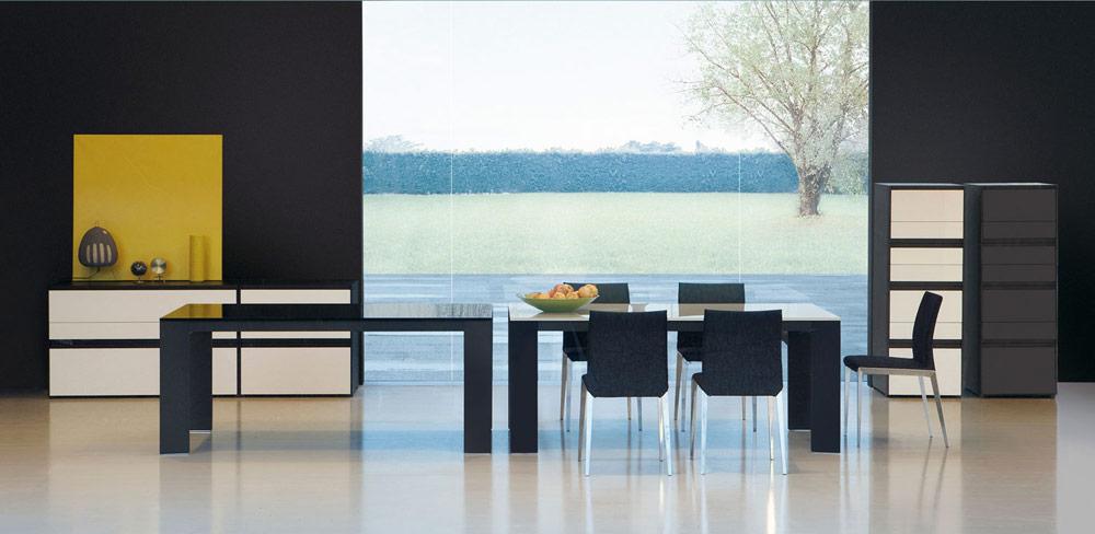 Rialto di Molteni, tavolo moderno in legno