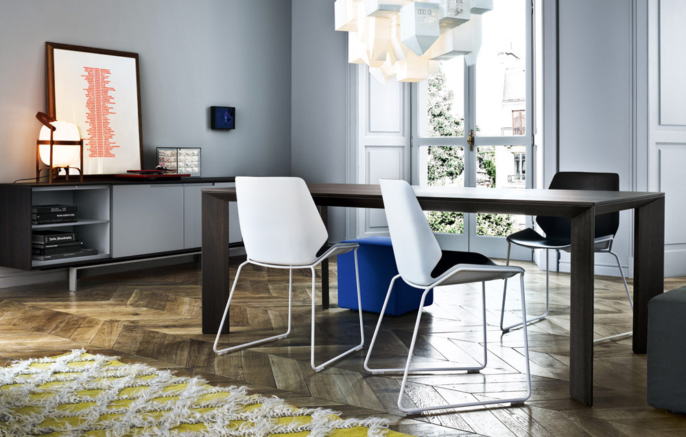 Gill, tavolo moderno Poliform