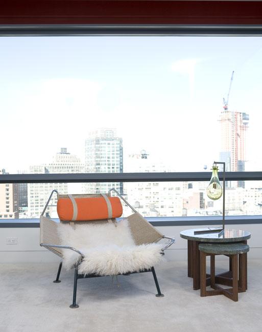 Appartamento a Soho, design Alexandra Angle