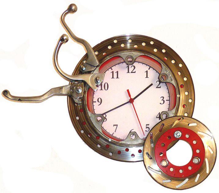 Alice Leonardi, orologio ingranaggi