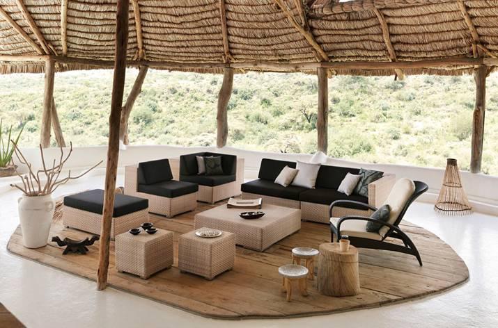 Dedon Lounge, salotto per esterni
