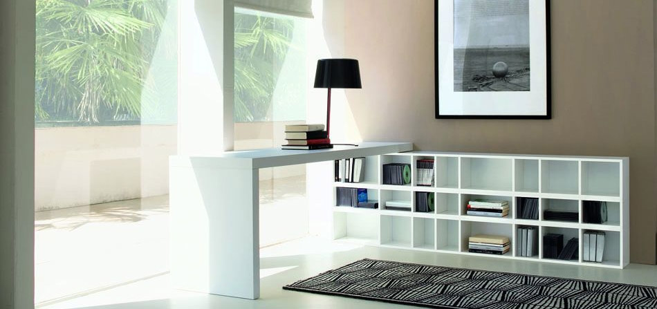 Block, libreria in legno Europeo