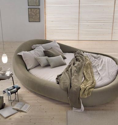 Il letto rotondo matrimoniale | Arredica