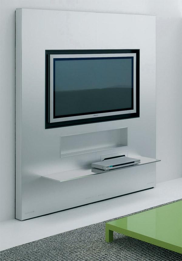Sistema a parete LCD Plasma TV Panel di Mdf Italia