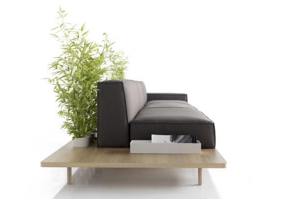 Mus, divano modulare di KOO