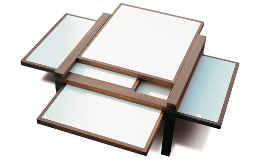 Tavolino giapponese Par4 di Urushi