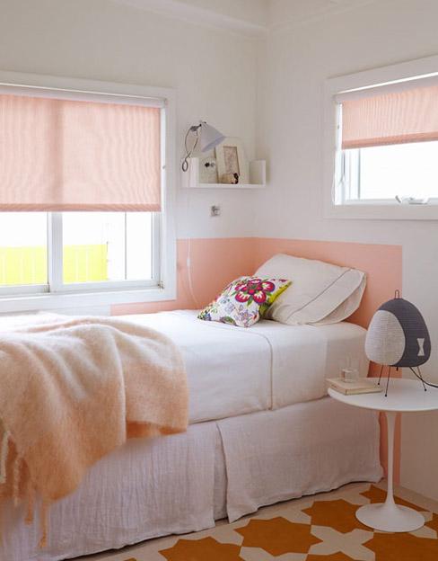 Villetta bianca sulla Fire Island, designer Alexandra Angle