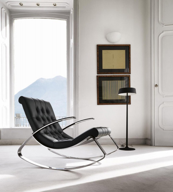 Poltrona Moderna In Pelle.Poltrone Moderne Design Di Desiree Euromobil Arredica