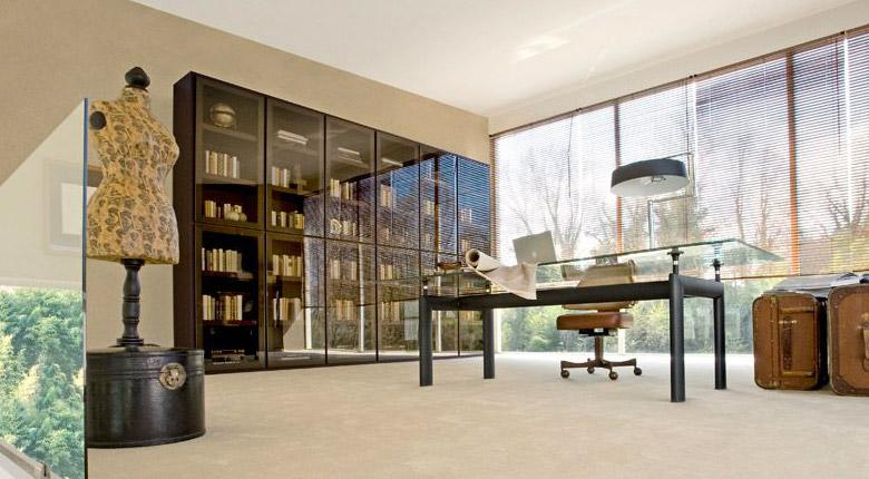 Class, Libreria Componibile modulare per il soggiorno, di Doimo Design