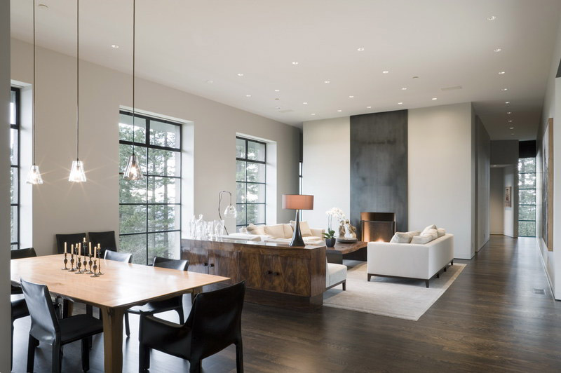Villa di lusso sulle colline di Portland, studio Olson Kundig