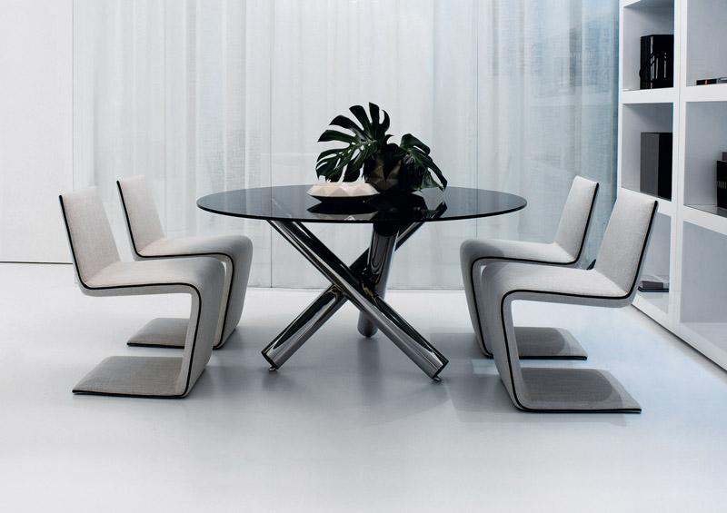 Sedie moderne con seduta imbottita arredica for Sedie moderne design