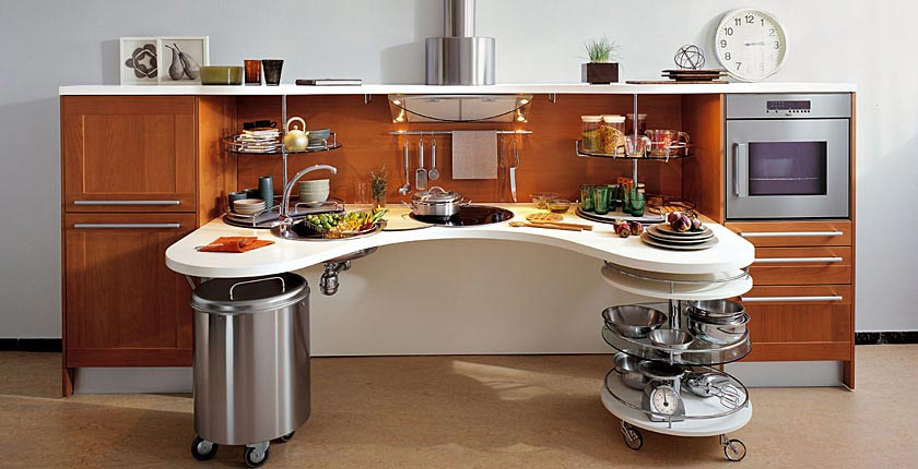 Skyline Lab, la cucina moderna per disabili | Arredica