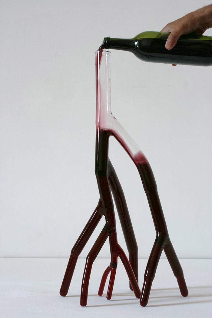 Strange Carafes, Carafe n. 6 decanter per vino