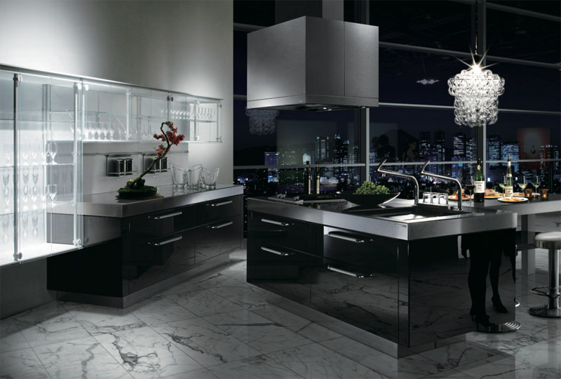 Awesome Cucine Moderne Di Lusso Photos - ubiquitousforeigner.us ...