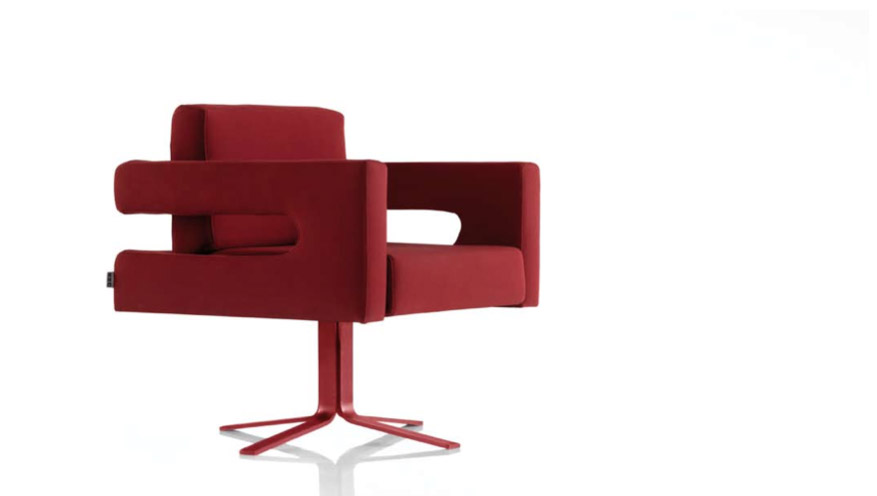 Sedute design, poltroncina Camelot di KOO International