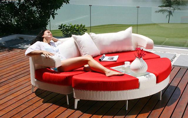 Divano Lounge Contemporaneo Embrace di Couture Jardin