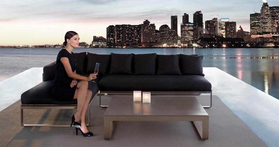 Divano Lounge Contemporaneo Modular, di Gandiablasco