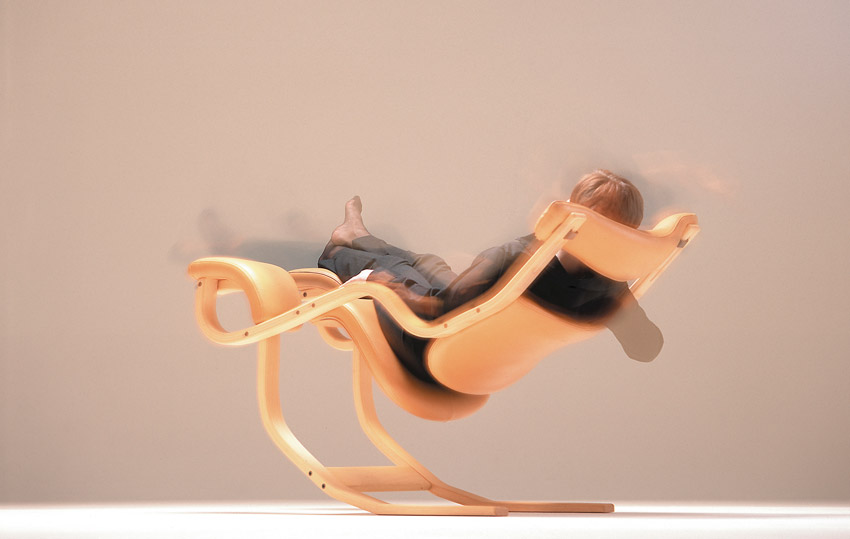 Gravity Balans, poltrona ergonomica e reclinabile