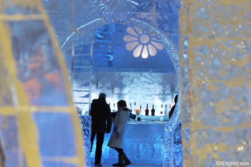 Hôtel de Glace, hotel di ghiaccio e neve a Quebec City, Canada