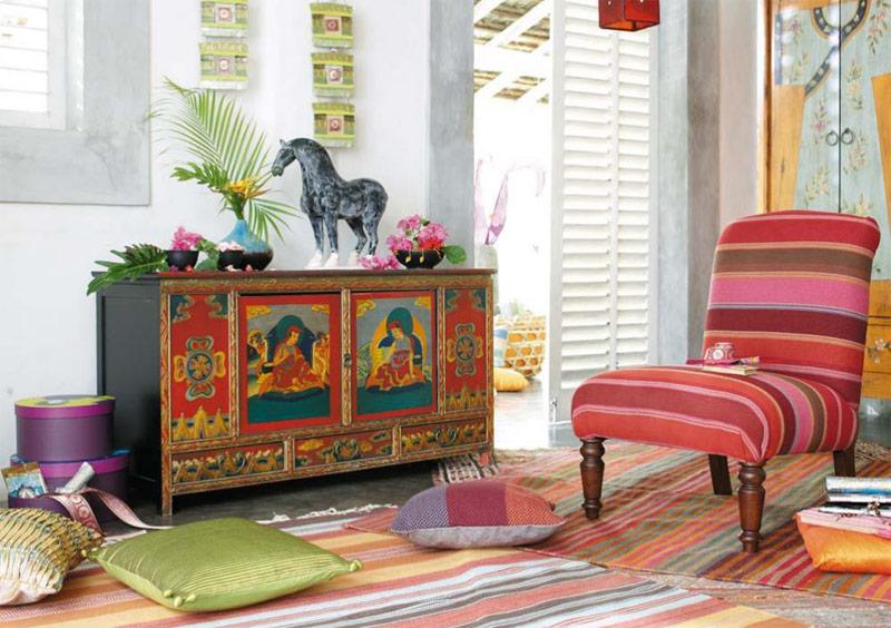 colorare la casa con dettagli esotici arredica