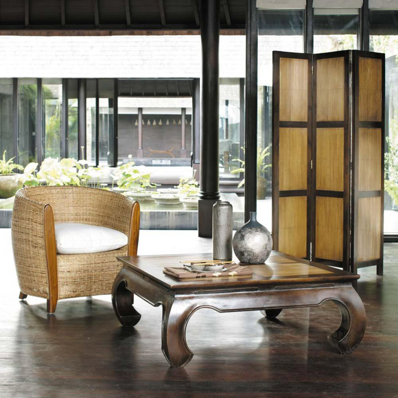 Arredamento Esotico, Tavolino Bamboo
