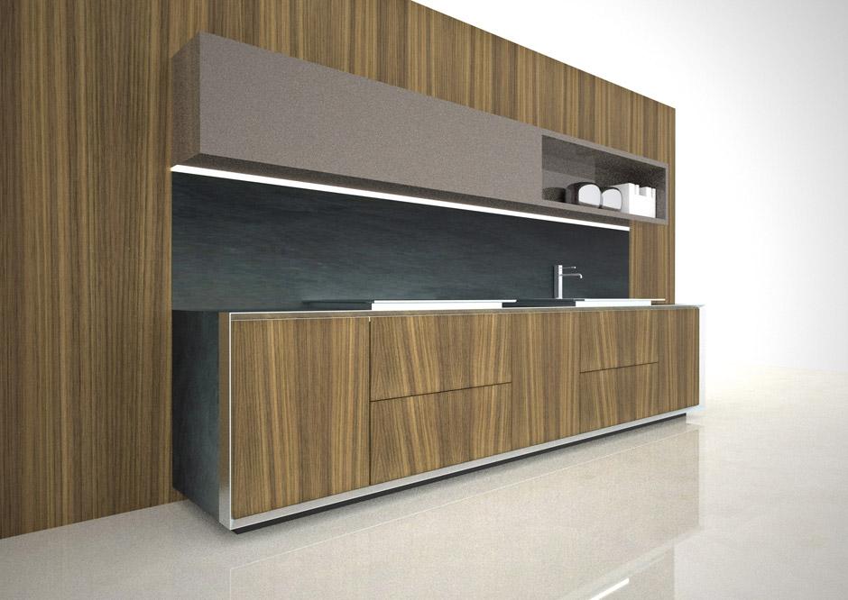 Salone del Mobile 2012, Cucina Elam, Tisettanta