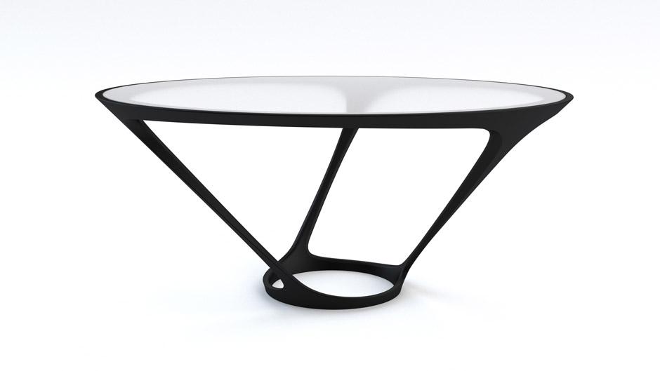 Salone del Mobile 2012, Tavolo di Ora-Ito per Roche Bobois