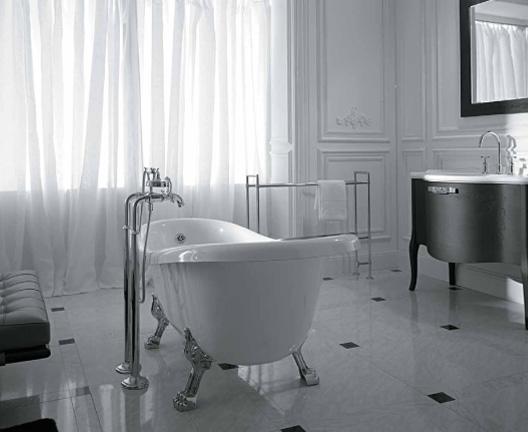 Vasche da bagno in ceramica ceramica globo arredica - Vasca da bagno con piedini ...