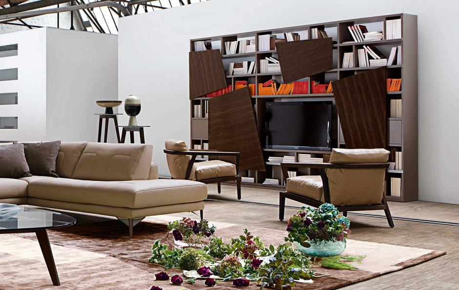 Il soggiorno moderno con la nuova collezione roche bobois for Roche bobois italia
