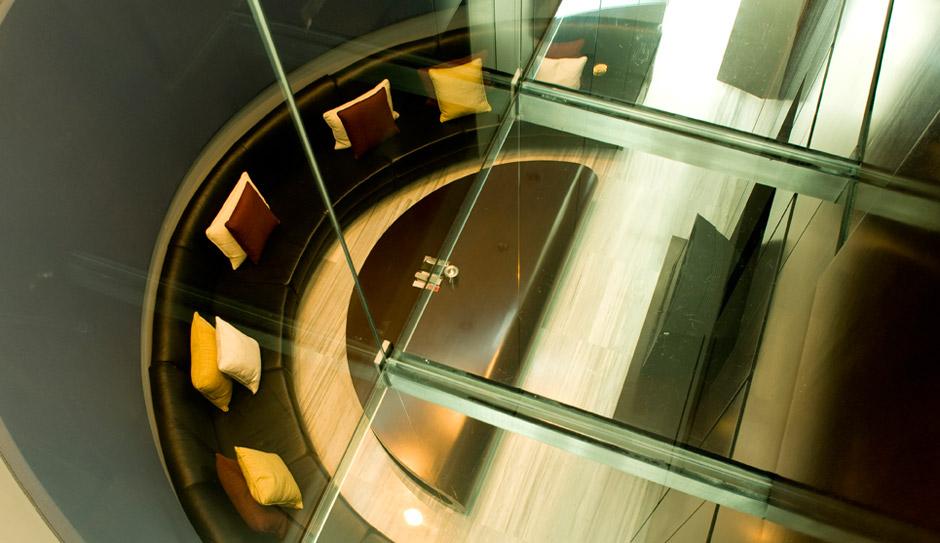 Villa a Madrid con arredamento moderno e contemporaneo, studio A-cero