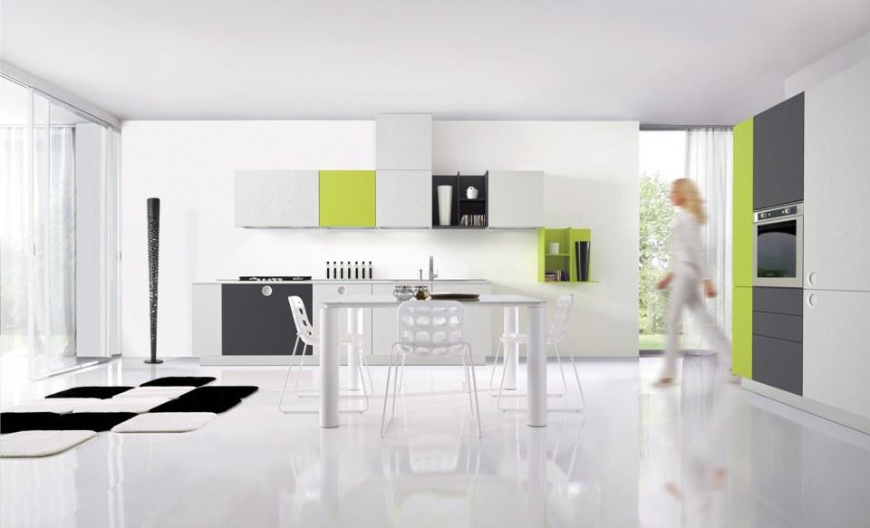 Onetouch, Cucina Contemporanea di Euromobil Cucine