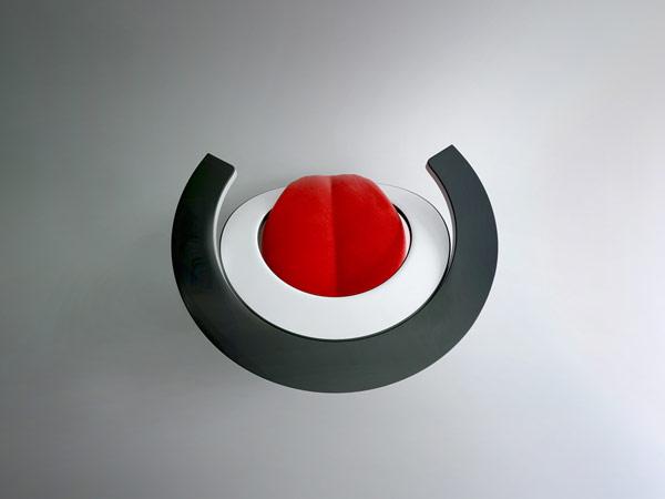 Poltrona Moderna Paszcza con seduta a forma di Lingua, by Wamhouse