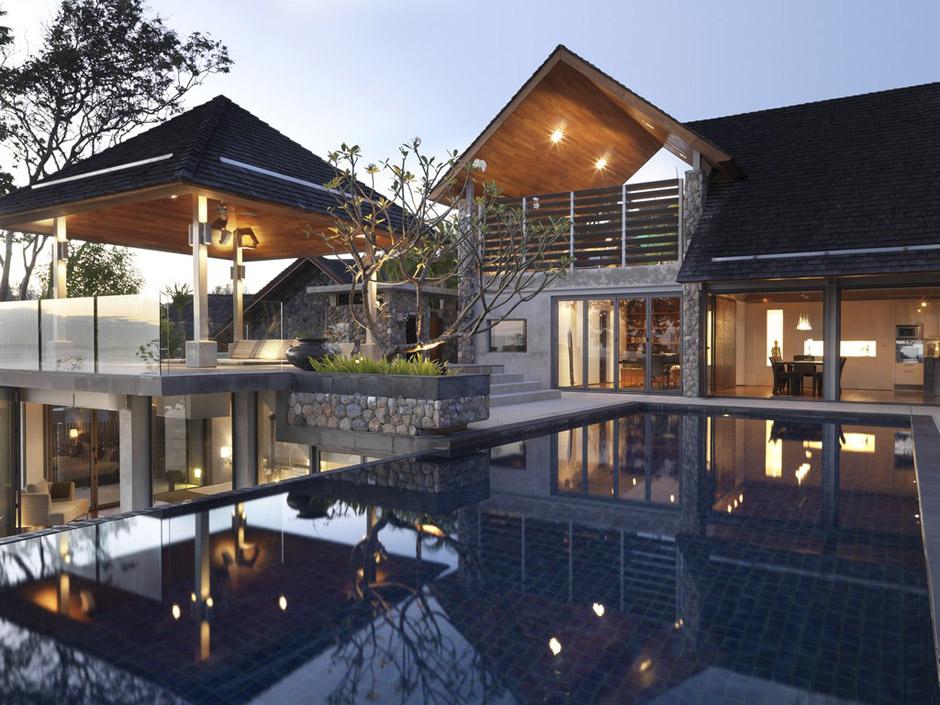 Villa di lusso in Thailandia, vista oceano