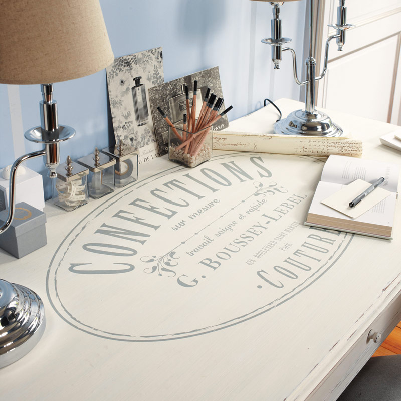 Tipografia arredamento e design arredica for Scrivania maison du monde