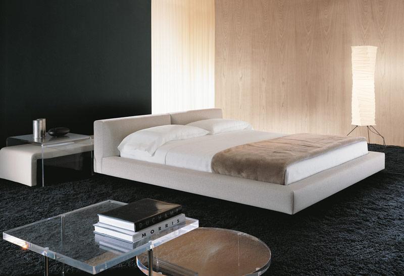 Kline bed letto matrimoniale in stile anni 70 arredica for Arredamento stile anni 70