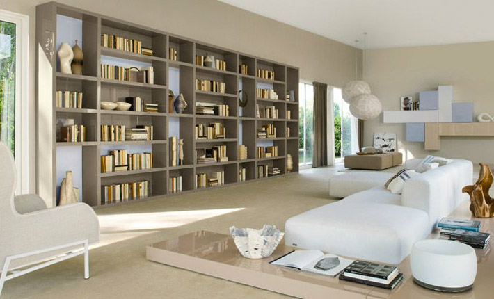 Librerie moderne per soggiorno idee di design per la sokolvineyard.com