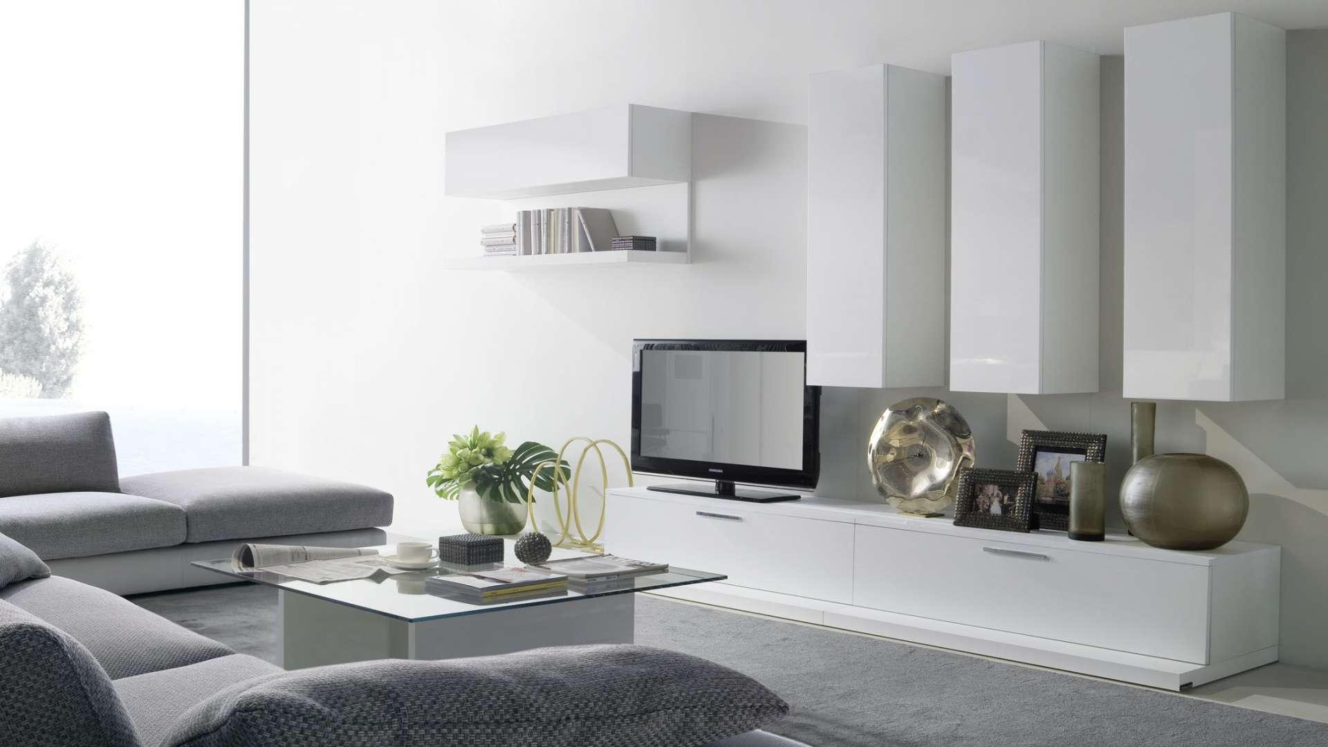 Mobili Da Soggiorno Bianchi i mobili living per soggiorno di chateau d'ax | arredica