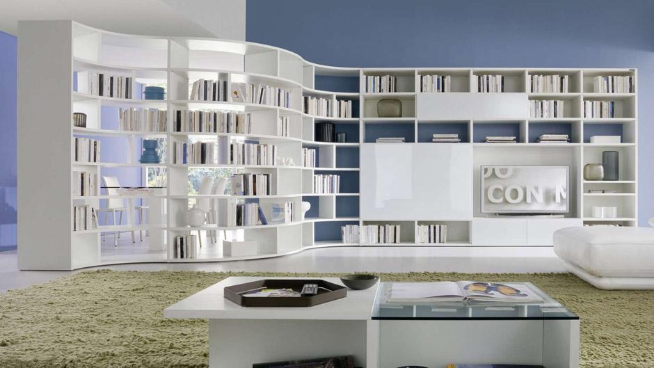 I mobili living per soggiorno di chateau dax arredica