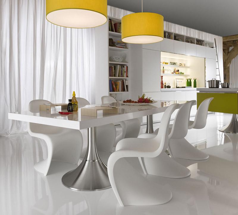 Cucina Moderna Library di Warendorf, Tavolino